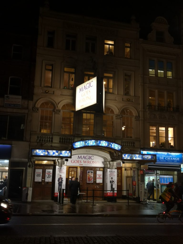 February Review - A visit to the Vaudeville Theatre